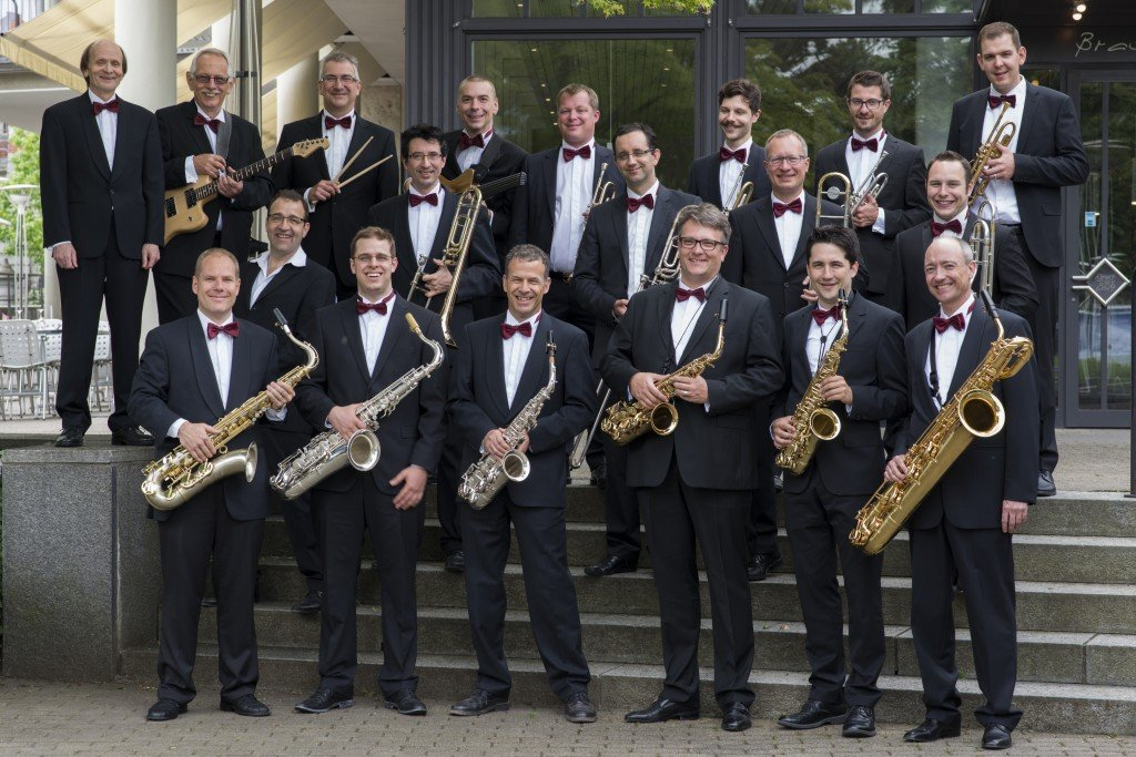 Bankers Big Band, Zürich, 4. Juni 2014. Photo by Alex Spichale Fotografie